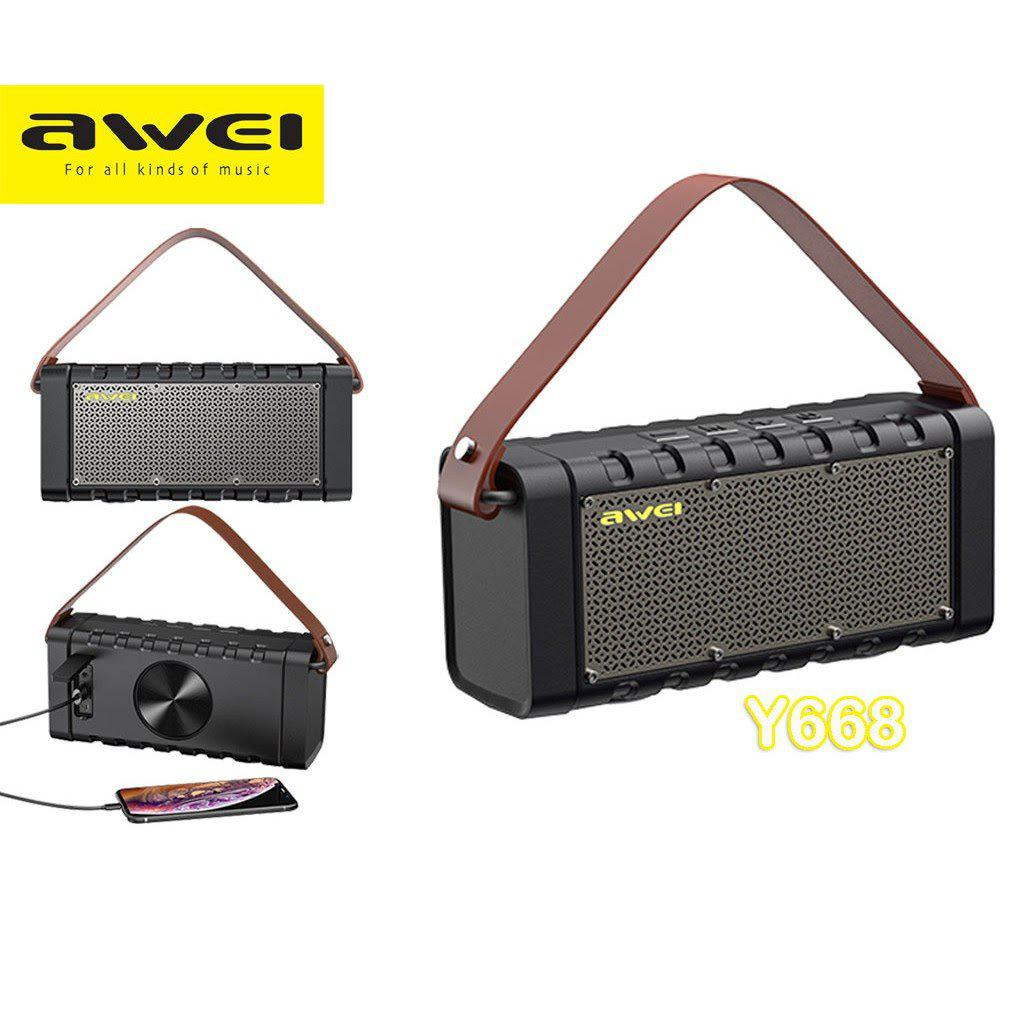 Awei Y668 Bluetooth Wireless Speaker With Powerbank