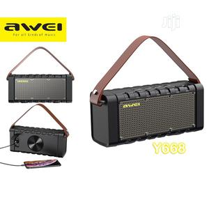 Awei Y668 Bluetooth Wireless Speaker With Powerbank   Audio & Music Equipment for sale in Lagos State, Ikeja