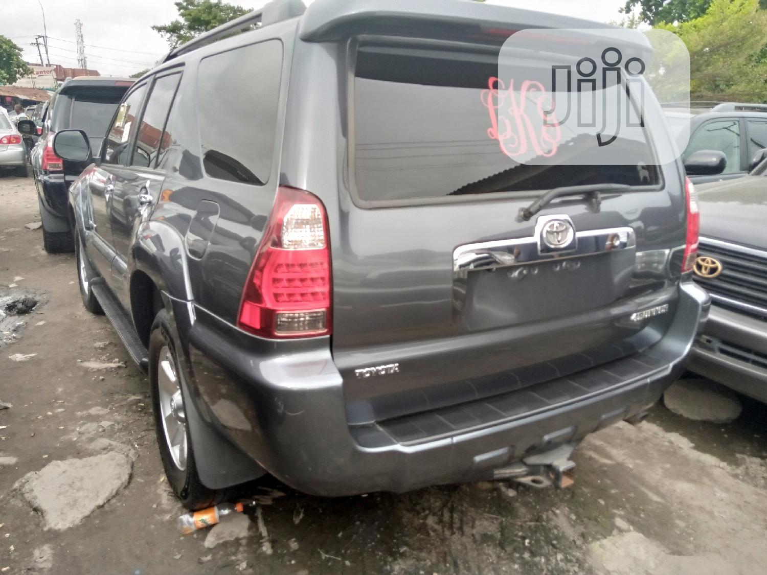 Toyota 4-Runner 2008 Gray | Cars for sale in Apapa, Lagos State, Nigeria