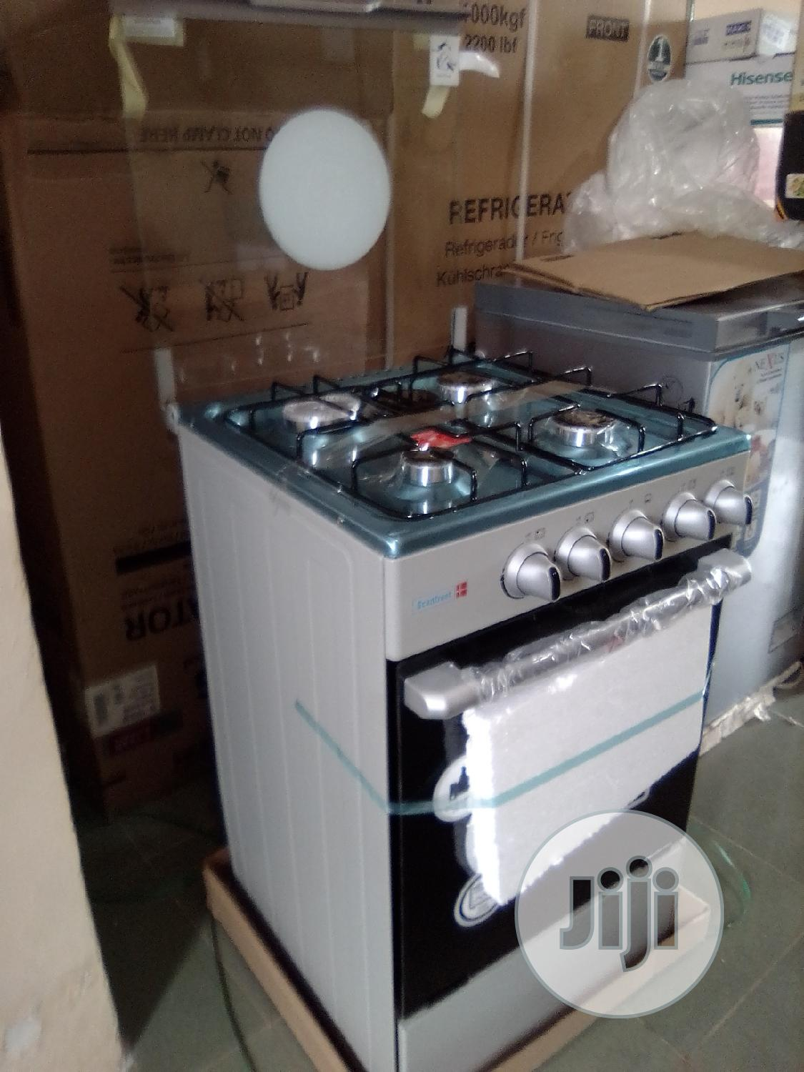 Scanfrost 50x55 4 Gas Cooker Burner CK-5402S NG | Kitchen Appliances for sale in Central Business Dis, Abuja (FCT) State, Nigeria