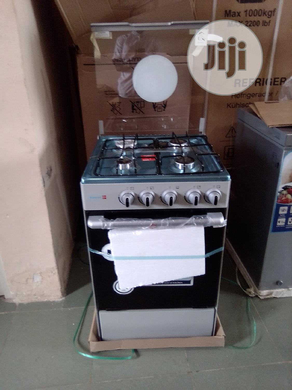 Scanfrost 50x55 4 Gas Cooker Burner CK-5402S NG