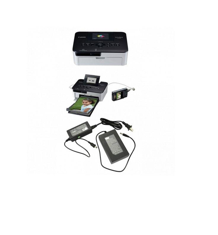 Canon Selphy CP1000 Photo Printer With 2,850mah Battery Pack