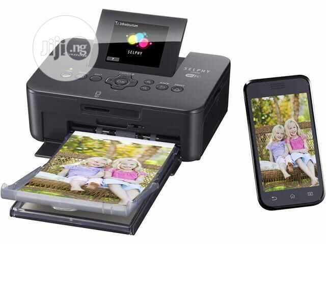 Canon Selphy CP1000 Photo Printer With 2,850mah Battery Pack   Printers & Scanners for sale in Ikeja, Lagos State, Nigeria