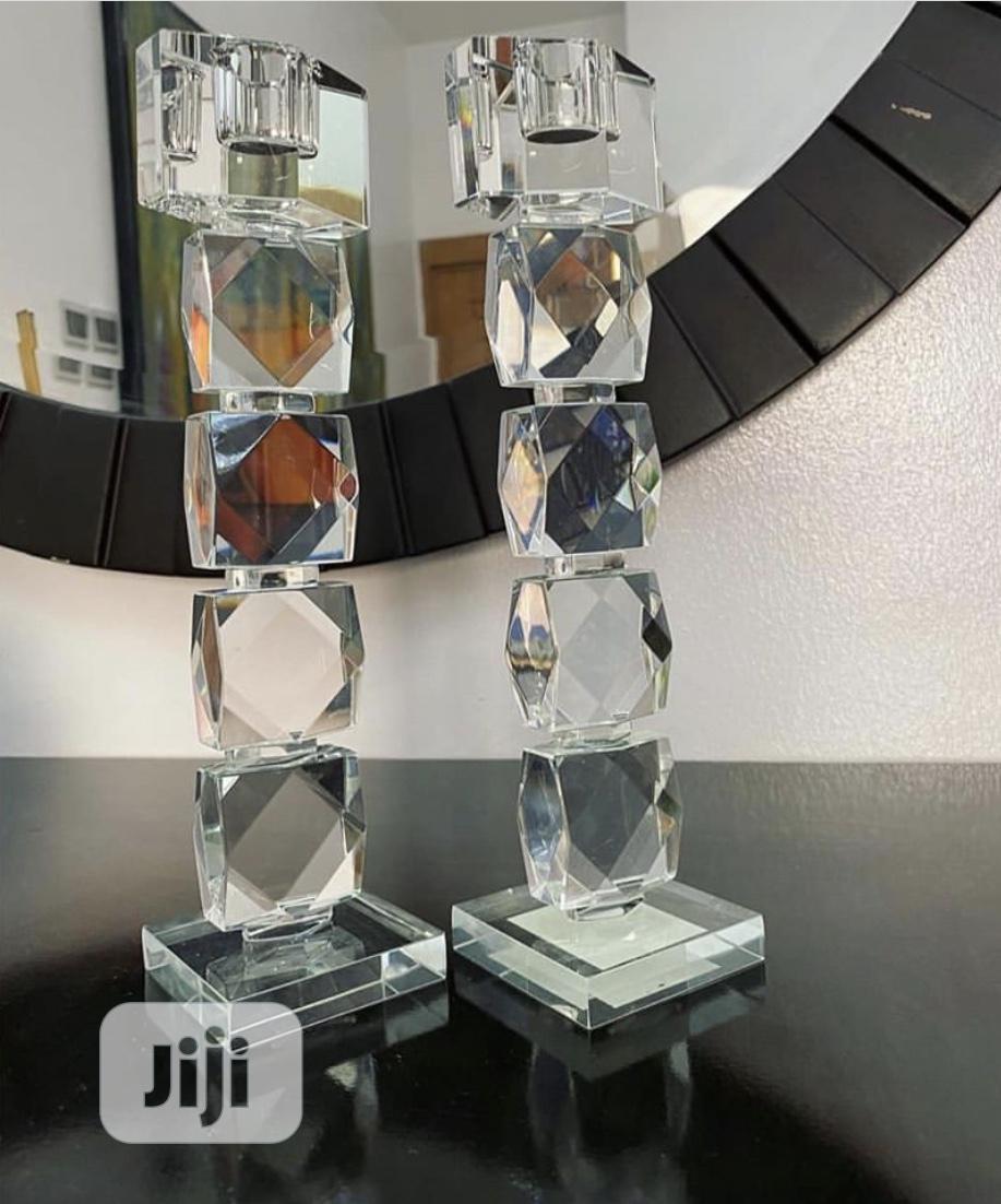 Crystal Table Decor