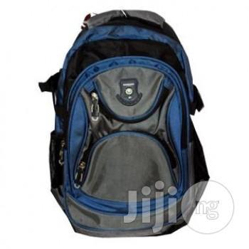 School Backpack (Blue)