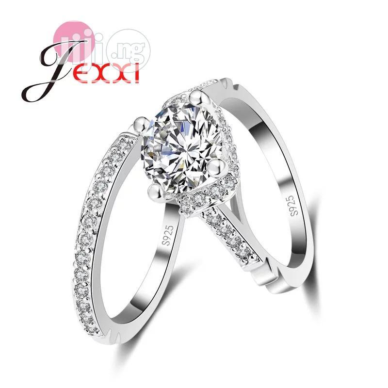 Loxy Cute Wedding Ring Set