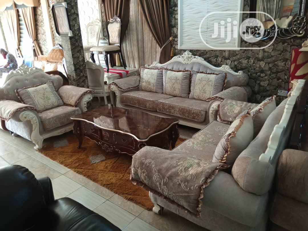 Imported Royal Turkey Fabric Sofa Chair.7seater