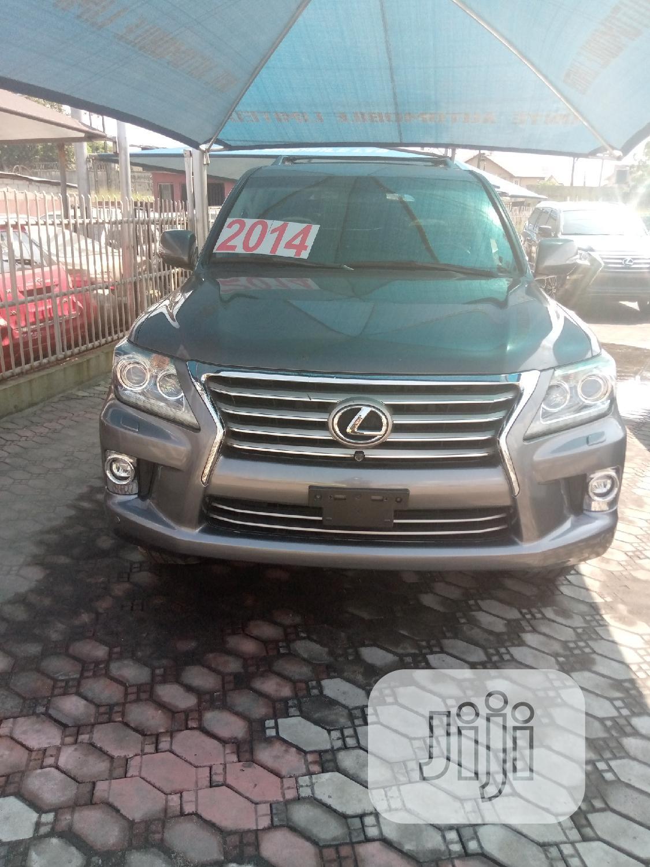 Lexus LX 570 2014 Gray