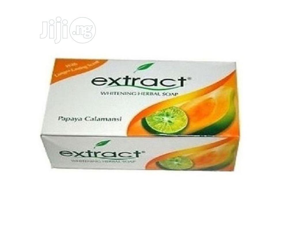 Extract Extract Whitening Soap - Papaya Calamansi (PACK OF 6)