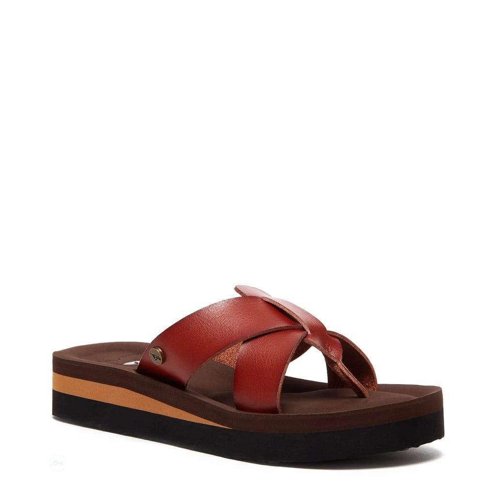 Wilmer Brown Flip Flops