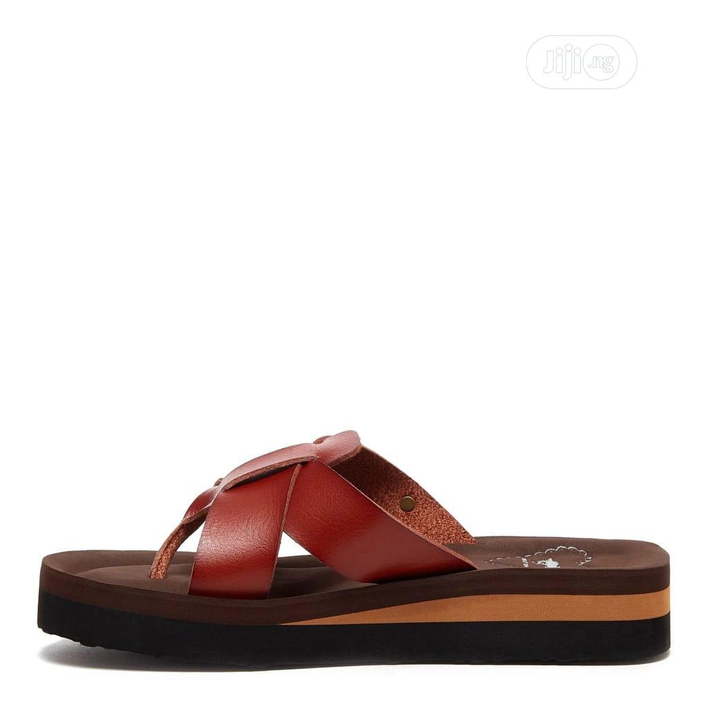 Wilmer Brown Flip Flops | Shoes for sale in Surulere, Lagos State, Nigeria