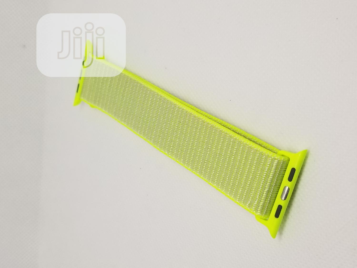 Archive: Woven Nylon Wristband Strap For Apple Iwatch Series 42mm