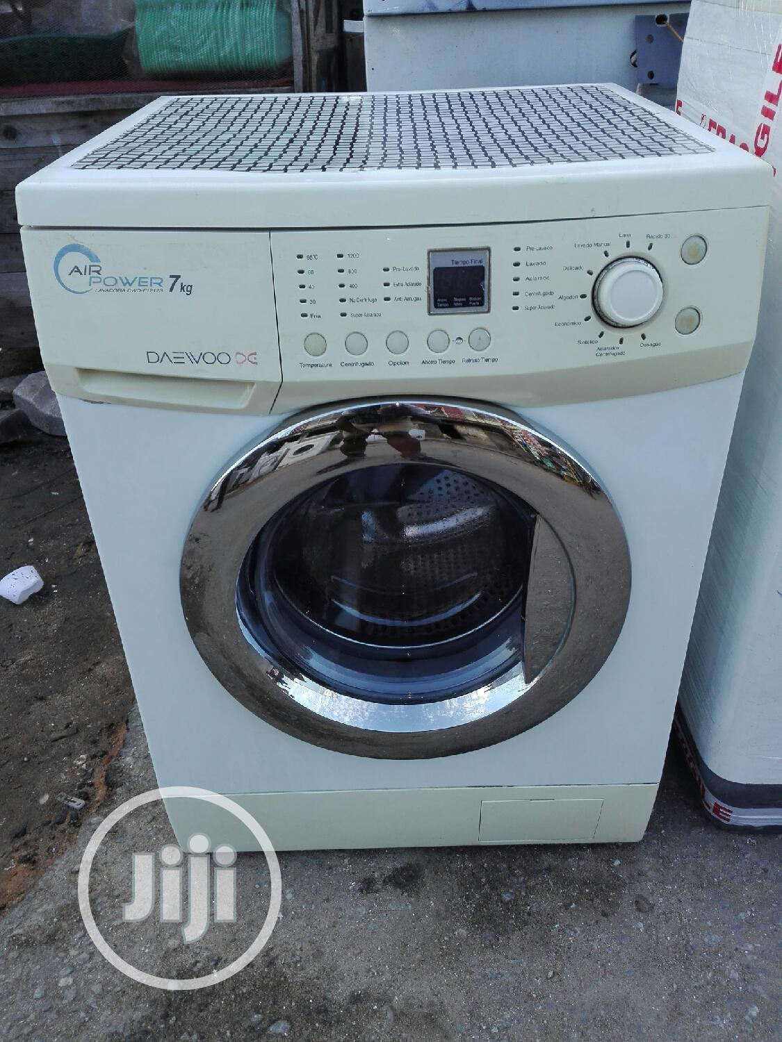 7kg Daewoo Washing Machine | Home Appliances for sale in Surulere, Lagos State, Nigeria