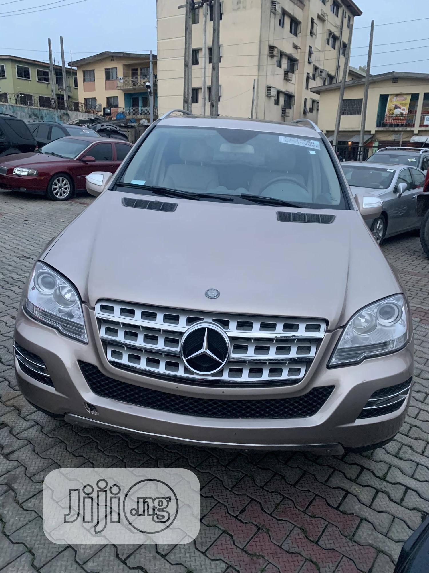 Mercedes-Benz M Class 2009 ML350 AWD 4MATIC Gold | Cars for sale in Ikeja, Lagos State, Nigeria