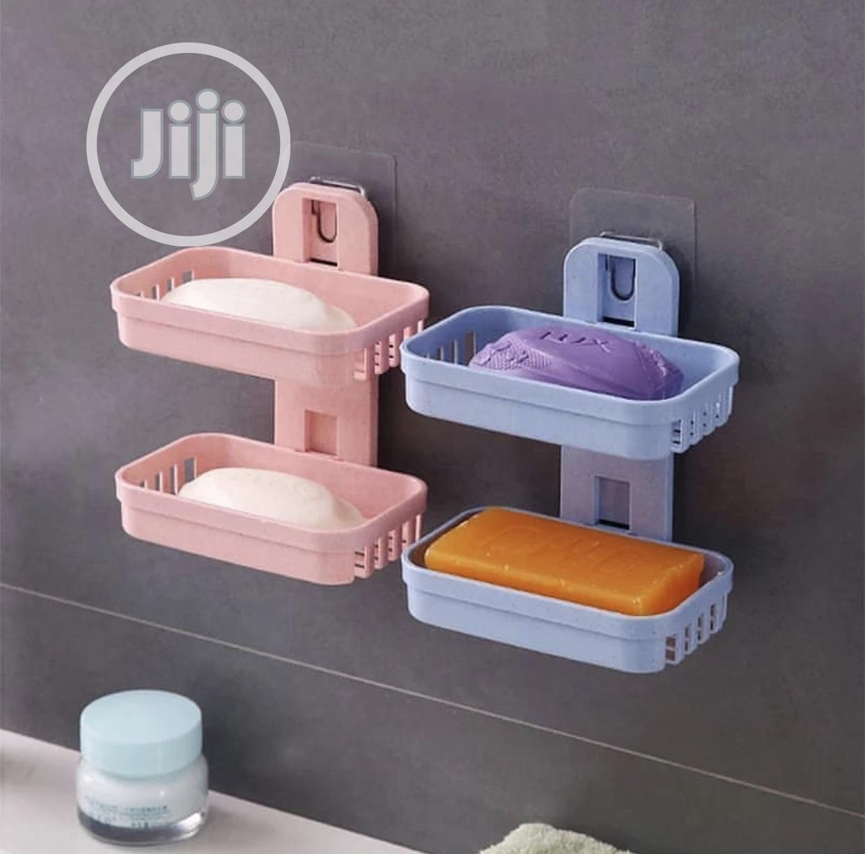Archive: Double Layer Soap Rack
