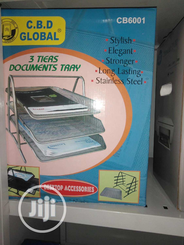 Document Basket Tray