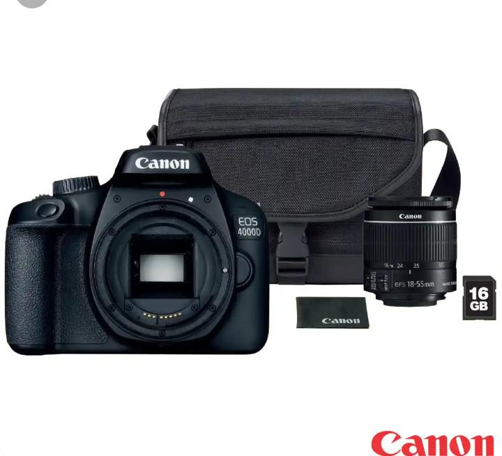 Canon EOS 4000D DSLR Camera With 18-55mm Lens