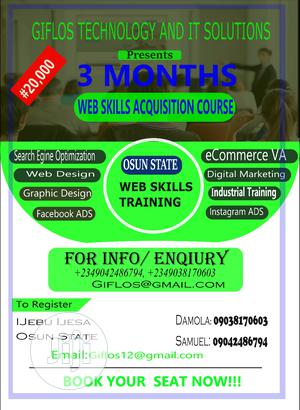Become A Skilled Web Designer | Classes & Courses for sale in Osun State, Oriade