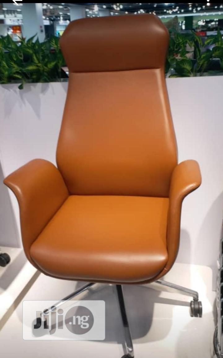 Archive: CEO Executive Leather Chair( Black Colour)