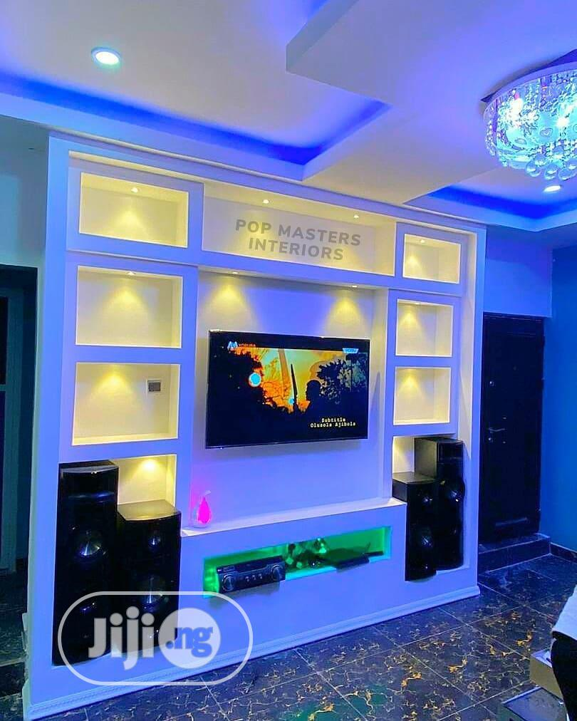 Archive: POP Ceiling, Tv Stand, Wall Screeding, Wall Sketching