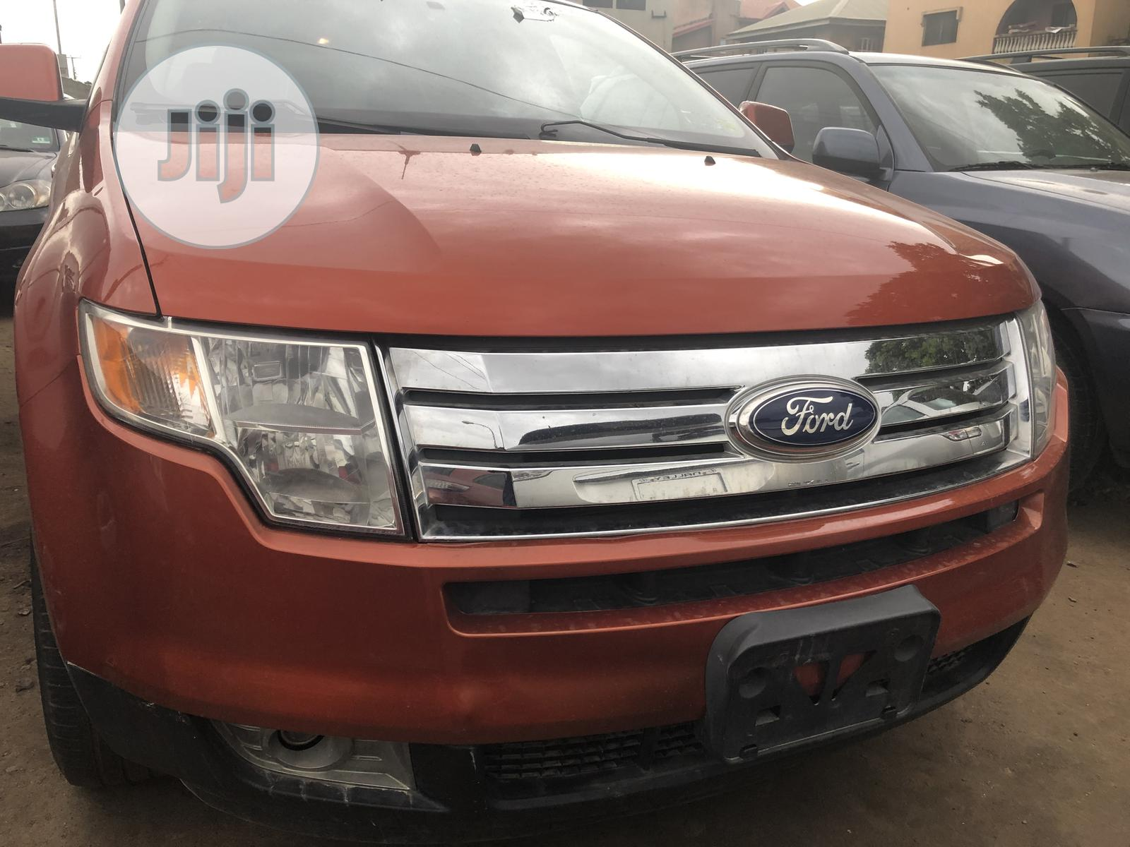 Ford Edge 2007 Brown