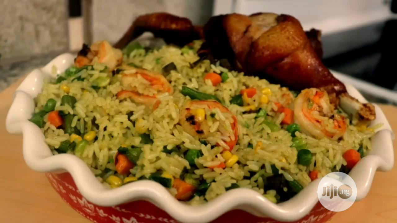 Fried Rice And Chicken
