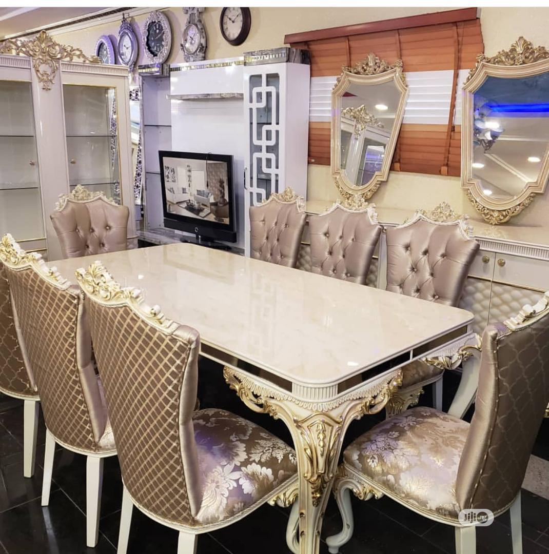 Complete Set of High Class 7 Seater Sofa And Dining   Furniture for sale in Surulere, Lagos State, Nigeria