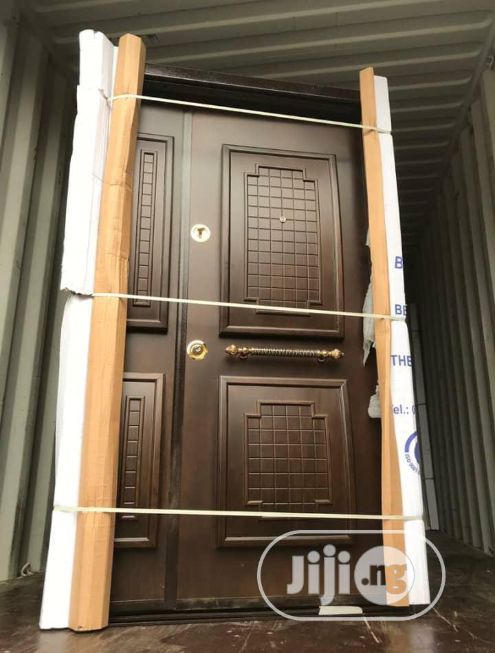 Security Front Door Made In Turkey