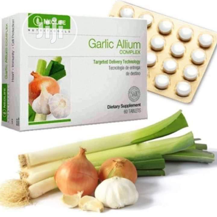 Archive: Garlic Allium Complex, OMEGA 3 Salmon Oil