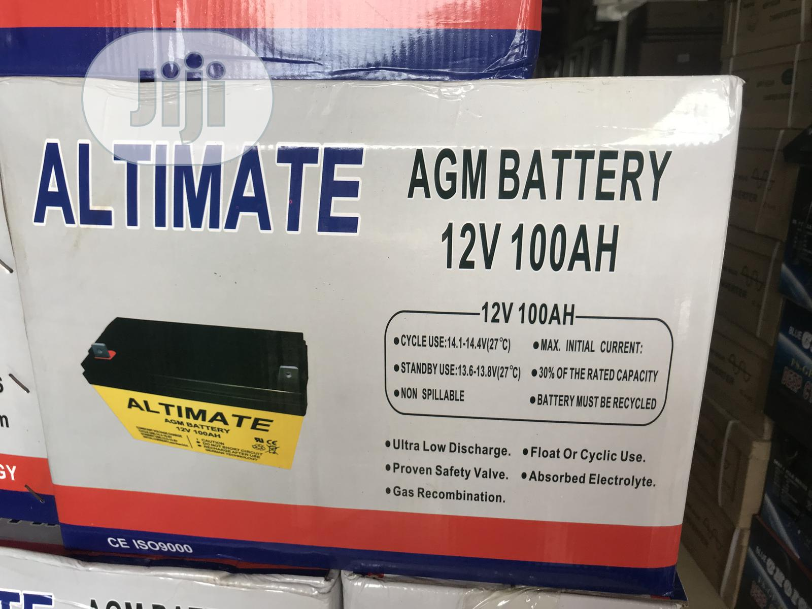 Archive: 12v 100ah Altimate Battery