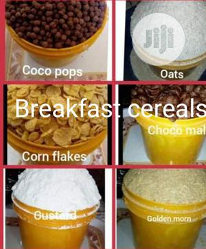 Cereals: Quaker Oats, Cornflakes, Golden Morn, Milk, Milo And Custard | Meals & Drinks for sale in Ondo State, Akure