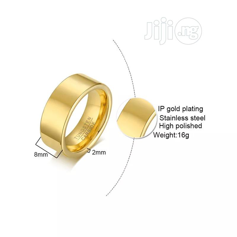 Tungsten Steel Male Ring | Jewelry for sale in Port-Harcourt, Rivers State, Nigeria