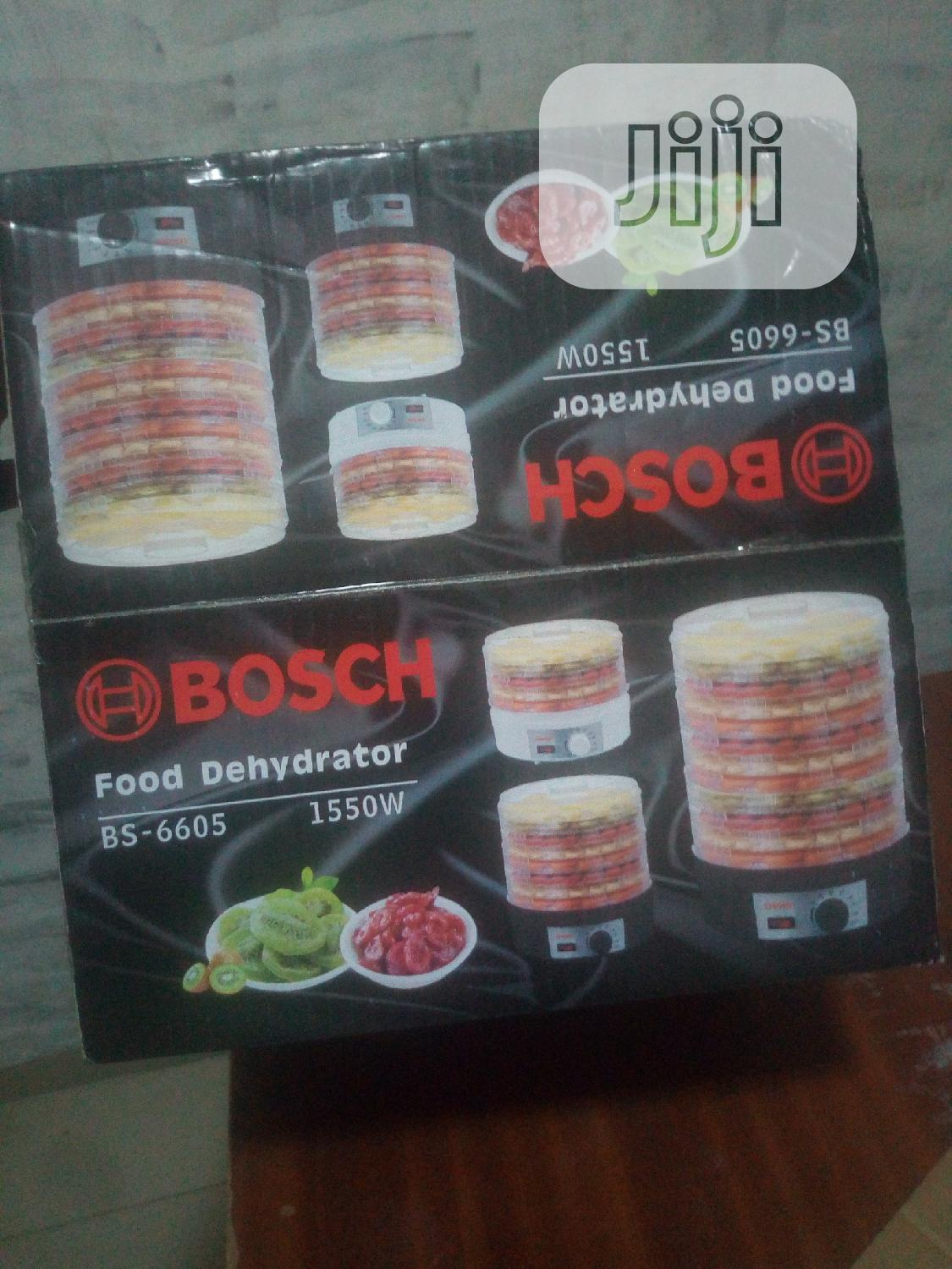 Archive: Bosch 5 Layers Food Dehydrator
