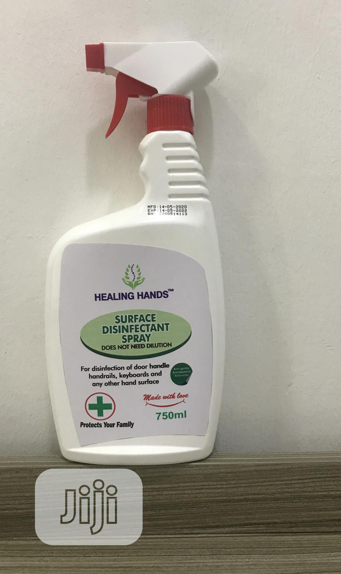 Archive: Surface Disinfectant Spray 750ml