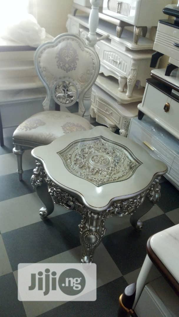 Quality 2in1 Royal Console Chairs And Table