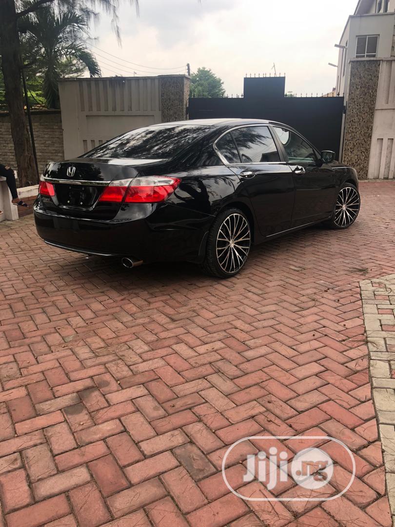 Honda Accord 2014 Black | Cars for sale in Magodo, Lagos State, Nigeria