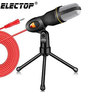 Desktop Mic Professional Studio Broadcasting Condenser Tripod For PC | Accessories & Supplies for Electronics for sale in Lagos State, Ikoyi