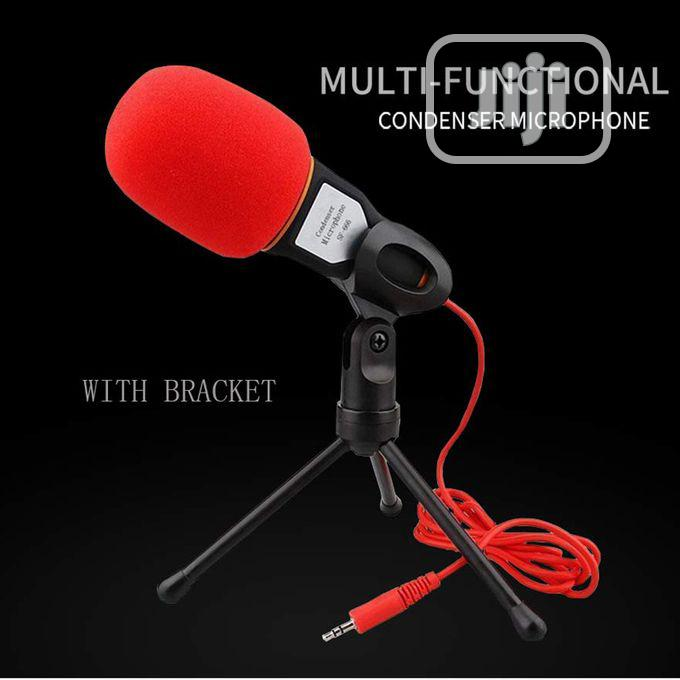 Desktop Mic Professional Studio Broadcasting Condenser Tripod For PC | Accessories & Supplies for Electronics for sale in Ikoyi, Lagos State, Nigeria