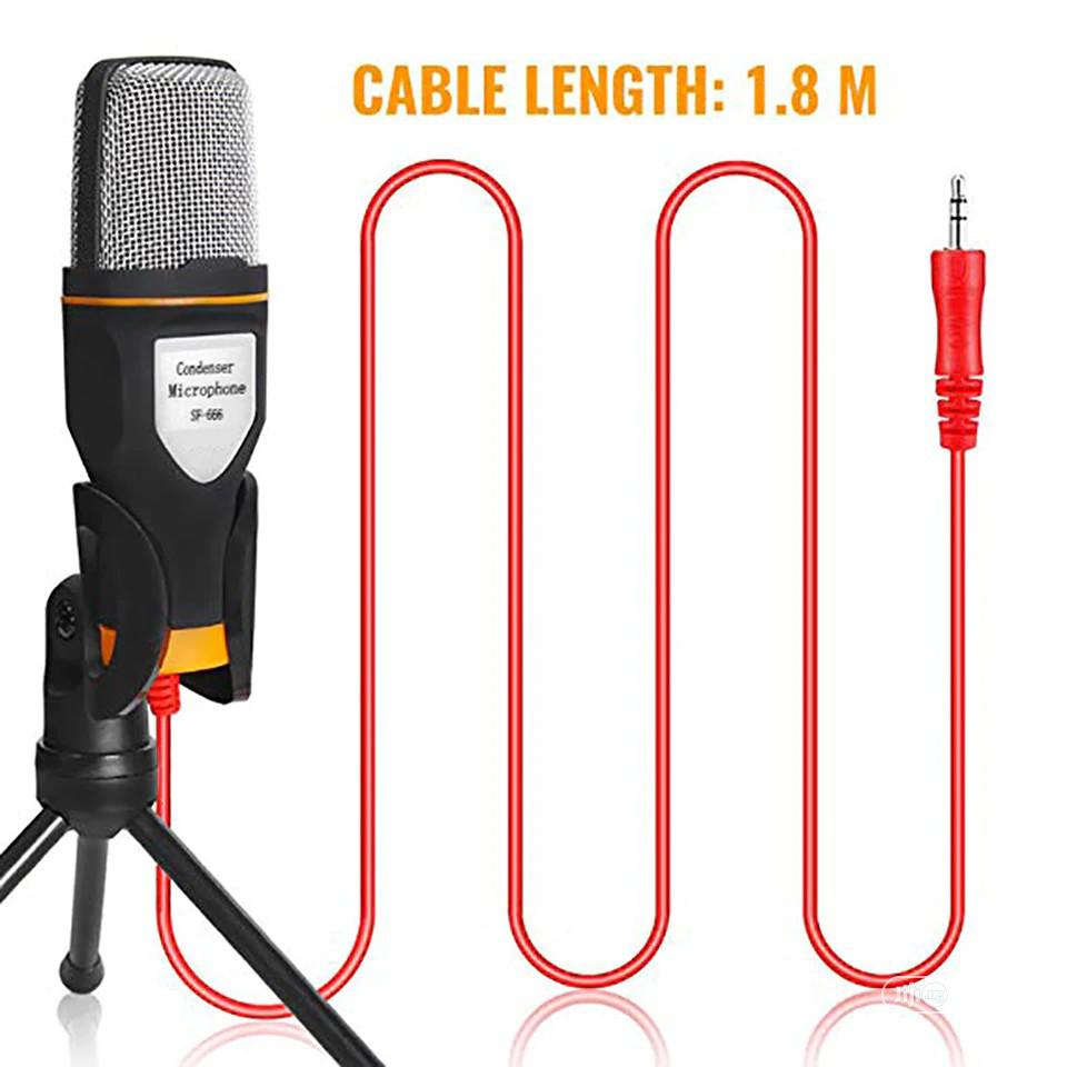 Studio Broadcasting Condenser Microphone With Mini Tripod For PC | Accessories & Supplies for Electronics for sale in Maryland, Lagos State, Nigeria
