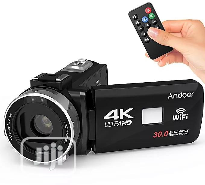 4k Ultra Camcoder With Wifi