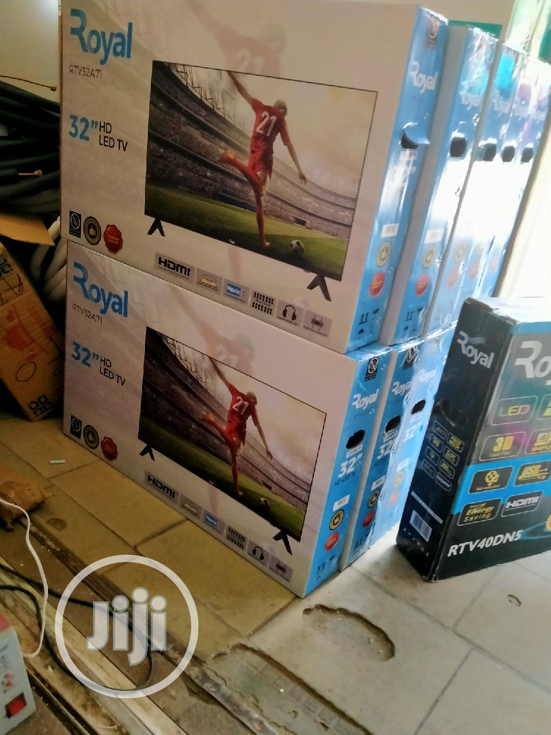 Royal 32 Inch Smart | TV & DVD Equipment for sale in Wuse, Abuja (FCT) State, Nigeria