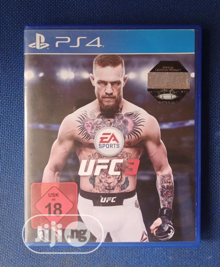 Archive: Playstation 4 UFC 3