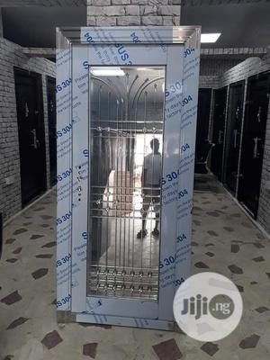 3ft Stainless Glass Door | Doors for sale in Lagos State, Orile