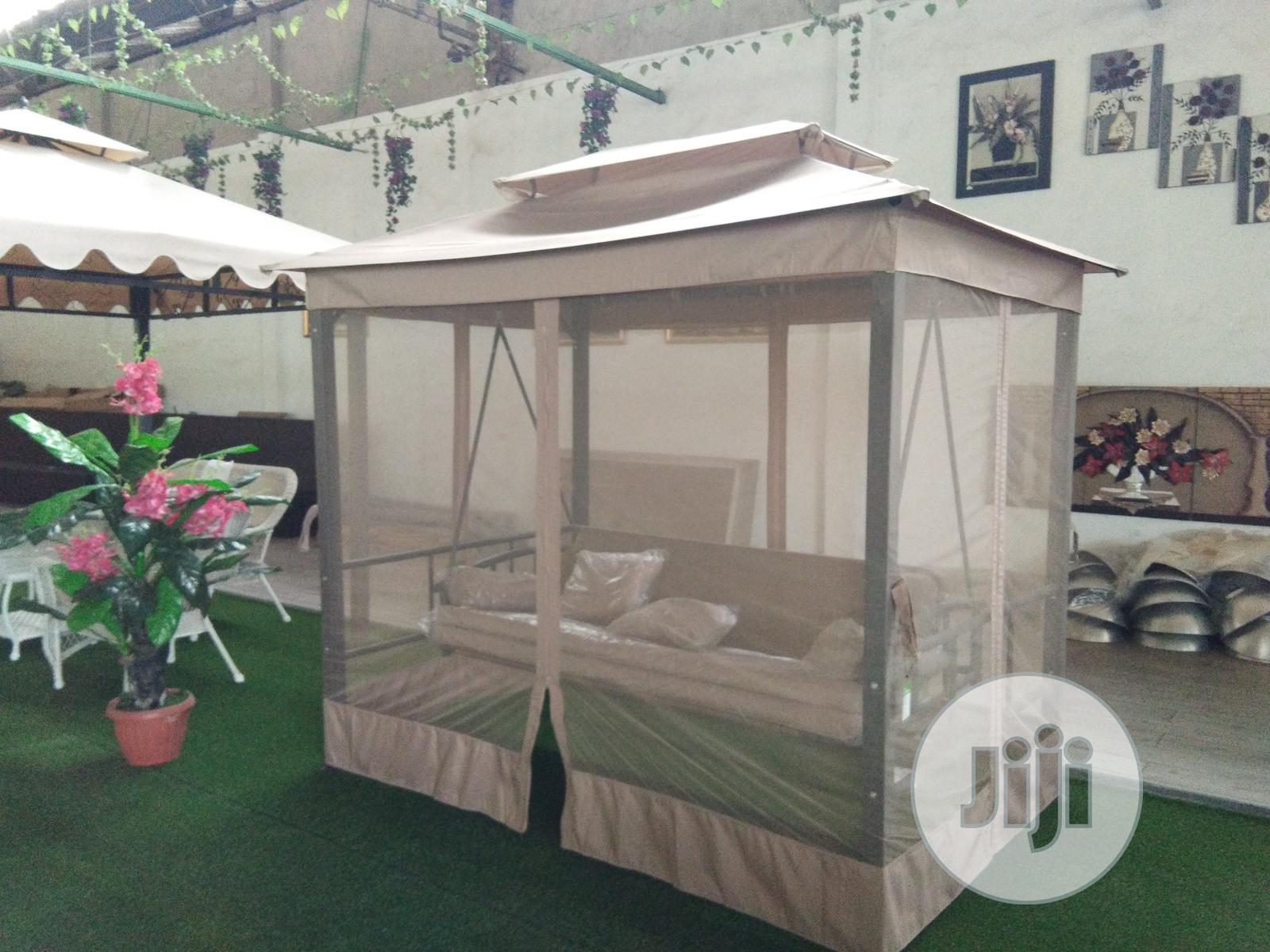 Garden Swing Bed Canopy With Mosquito Net