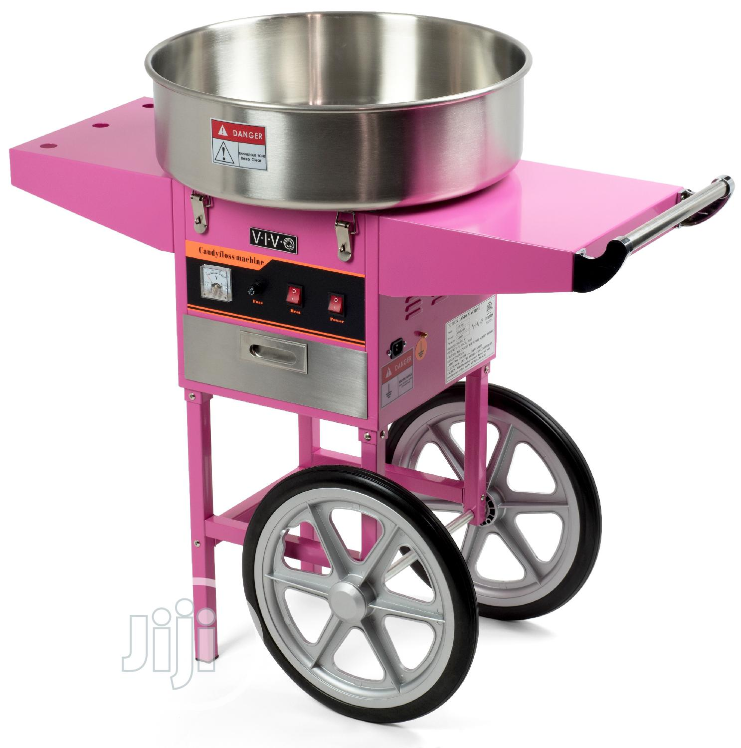Standing Cotton Candy Machine
