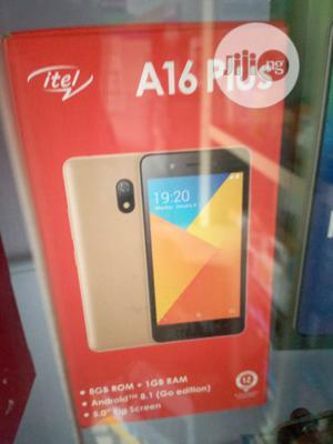 New Itel A16 Plus 8 GB Black   Mobile Phones for sale in Lagos State, Ikeja