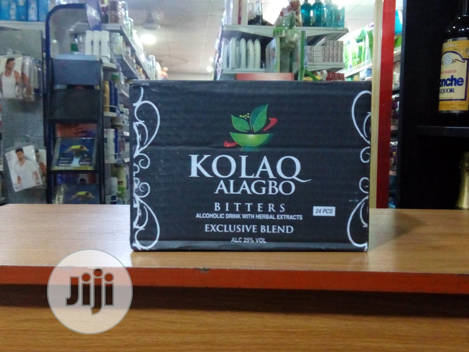 Kolaq Alagbo Bitters 1 Carton | Meals & Drinks for sale in Surulere, Lagos State, Nigeria