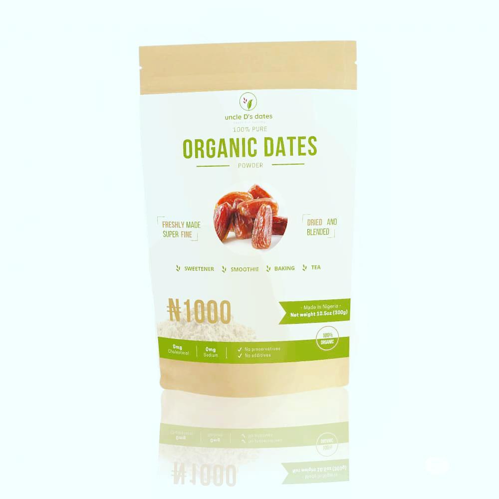 Pure Organic Date Powder 300g