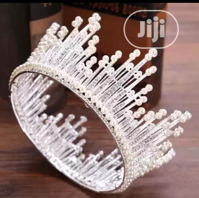 Statement Bridal Crown | Wedding Wear & Accessories for sale in Wuse, Abuja (FCT) State, Nigeria