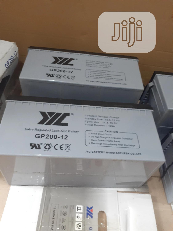 12v 200ah Jyc Battery